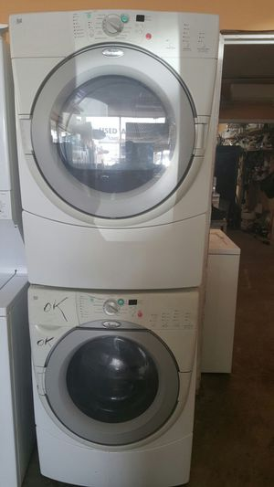 WHIRLPOOL STACKABLE WASHER AND DRYER for Sale in Lorton, VA