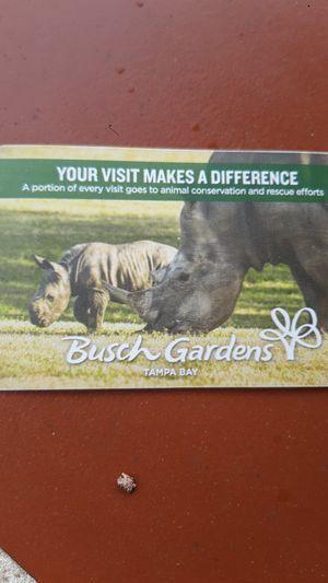 Bush garden tickets for Sale in Miami, FL