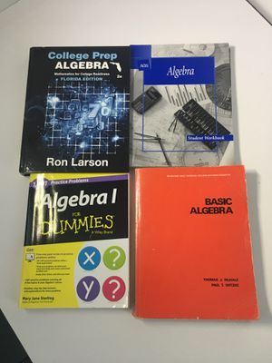 FREE - Algebra Books - includes 2 student workbooks. for Sale in Coral Gables, FL
