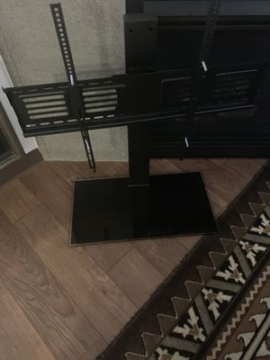 Black adjustable Swivel TV Stand for Sale in Vancouver, WA