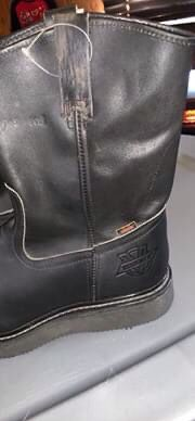Black work boot for Sale in Angier, NC