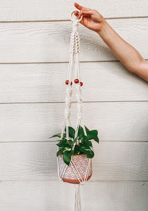 Macrame hanging planter for Sale in Tracy, CA
