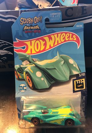 "Hot Wheels ""Scooby-Doo & Batman Screen Time"" BatMobile. for Sale in Des Moines, IA"