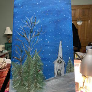 Winter Scene Painting for Sale in Virginia Beach, VA