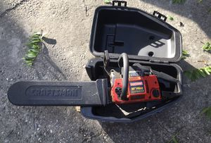 Craftsman 20in. 46cc 2cycle chainsaw for Sale in Tacoma, WA
