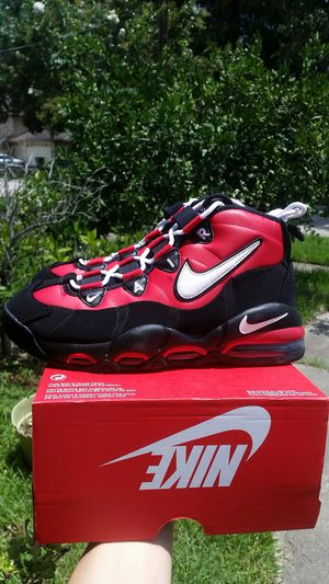 New Air Max Uptempo 95 men size 9.5 red Black for Sale in Metairie, LA
