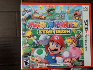 Mario party star rush, Nintendo 3ds for Sale in Elyria, OH