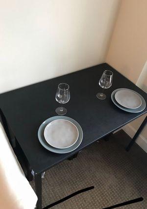 Black ikea table for Sale in Tacoma, WA