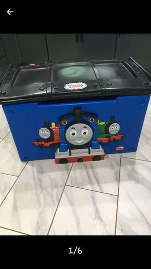 Kids Thomas Train Toy Box for Sale in West Covina, CA