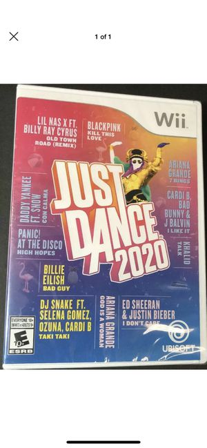 Just dance 2020 wii new for Sale in Los Angeles, CA