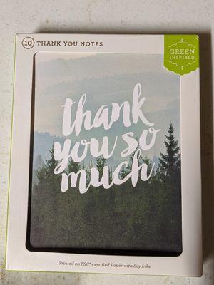 Thank you cards for Sale in Glen Allen, VA