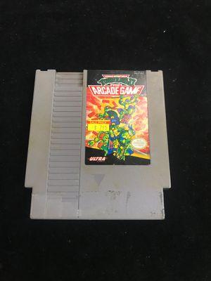 (NES) Teenage Mutant Ninja Turtles II: The Arcade Game for Sale in San Antonio, TX