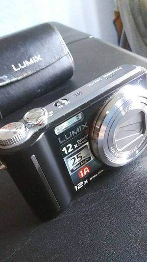 Panasonic DMC-ZS1 Lumix digital camera 12x Zoom for Sale in Santa Ana, CA