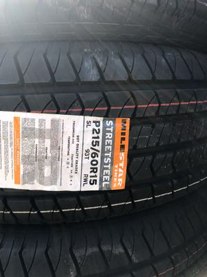 215/60/15 new tires for Sale in Perris, CA