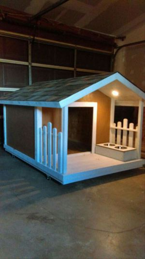 Custom Built Dog Houses in the city of victorville ca for Sale in Las Vegas, NV