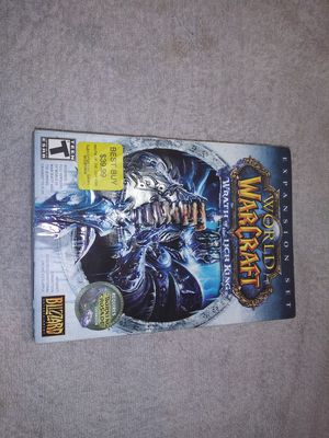 World of Warcraft wrath of the Lich King PC GAME for Sale in Akron, OH