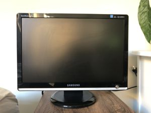 """Samsung Computer Monitor 19"""" LCD for Sale in Washington, DC"""