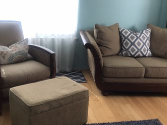 Italian Sofas and Chair for Sale in La Puente,  CA