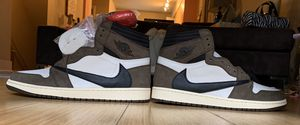 Nike Air Jordan 1 Retro High Travis Scott US 12 Basket Shoes for Sale in Redmond, WA