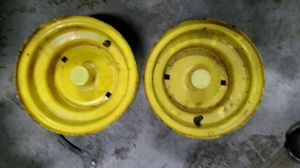 Pair of John Deere tractor rims for Sale in Sparks Glencoe, MD