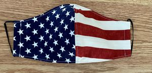 American Flag cotton fabric face mask covers for Sale in Hyattsville, MD