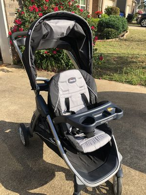 Chicco Sit and Stand Stroller - Like New - Holds Infant Car Seat for Sale in Columbus, GA