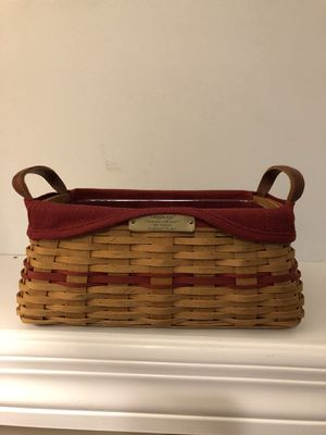 """Longaberger 2002 limited edition """"Traditions"""" basket for Sale in Gallatin, TN"""