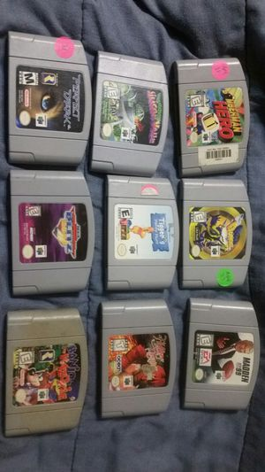 Nintendo n64 game's for Sale in Fresno, CA