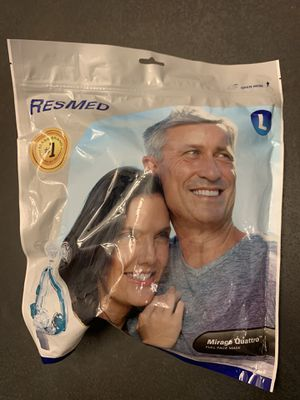 ResMed COAP Mirage Quattro Full Face Mask Size Large for Sale in Clovis, CA
