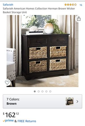 Like new! Basket storage $130 for Sale in Sunnyvale, CA
