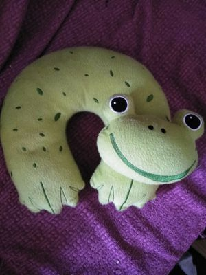 Frog Neck Pillow for Sale in Goodyear, AZ