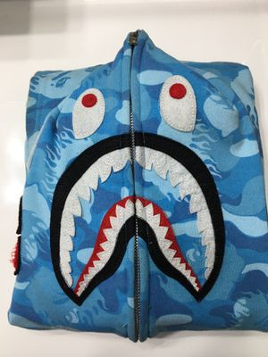 Fire Bape Shark Hoodie for Sale in Detroit, MI