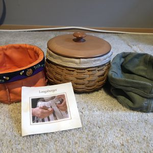 2004 Longaberger Halloween Basket Set for Sale in Edgewood, WA