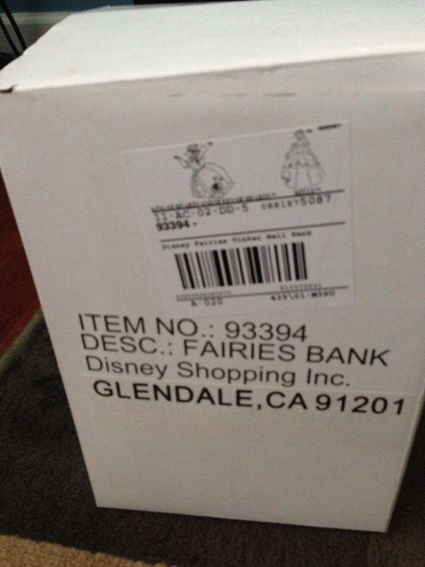 Disney Tinker Bell Fairies Bank