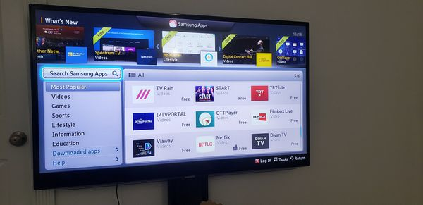 Samsung Smart tv 55 inches