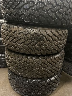 4 tires like new size 225 70 r red 15 price includes installation and balance for Sale in Oak Park, IL