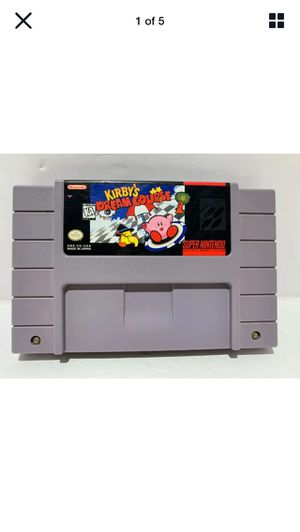 Kirby's Dream Course SUPER NINTENDO SNES- Tested & GREAT CONDITION! for Sale in Lancaster, CA