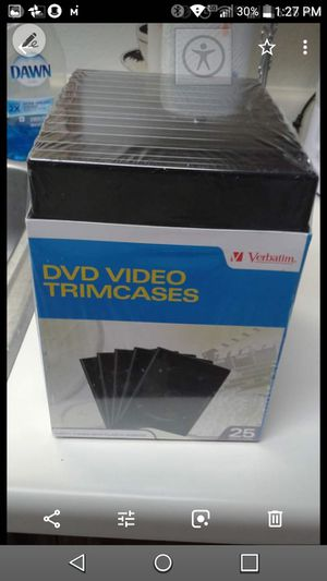 New trim dvd/movie cases for Sale in Owatonna, MN
