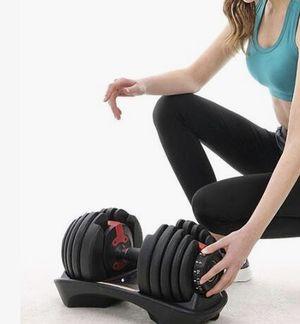 Adjustable Fitness Workout Dumbell for Sale in Riverside, CA