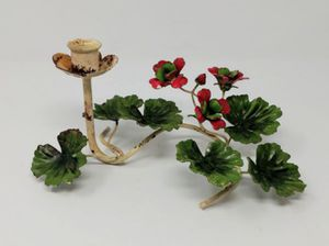 Vintage Toleware Painted Metal Wire Candelabra Taper Candle Holder for Sale in Monroe, WA