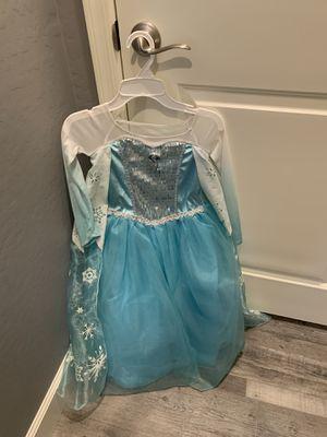 Elsa Disney Costume Dress for Sale in Peoria, AZ