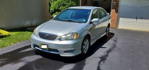 Well maintained 2007 Silver Toyota Corolla S for Sale in Herndon, VA