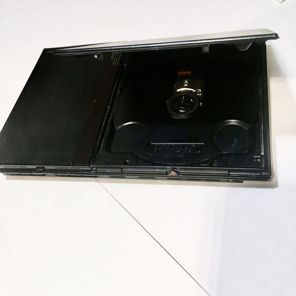 Slim Black PlayStation 2 PS2 GOOD CONDITION!!