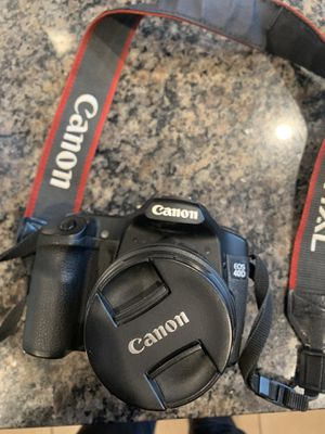 Canon DSLR EOS 40 D with three lenses and Cannon Bag for Sale in Santa Clara, CA