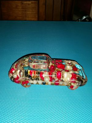 Beads in oil sportscar paperweight for Sale in Pittsburgh, PA