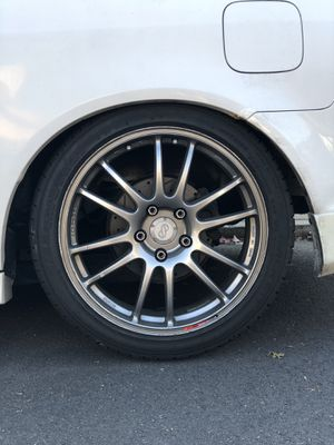 "Enkei GTC01 18"" & Falken Tires for Sale in Queens, NY"