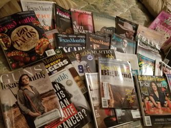 Texas Monthly magazine Collection 2017-2020 Era for Sale in Waco,  TX
