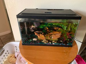 Free tank with fish for Sale in Perris, CA
