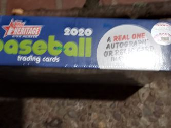 2020 Topps Heritage Unopened 2 Boxes for Sale in Portland,  OR