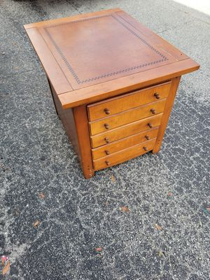 Vintage Solid Wood Accent Multi-Functional Side/ End Table for Sale in Orlando, FL